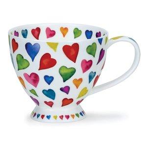 Dunoon Skye Warm Hearts Mug
