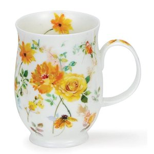 Dunoon Suffolk Yellow Floral Harmony Mug