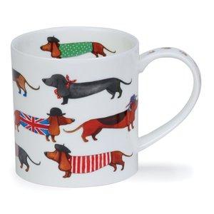 Dunoon Orkney Dashing Dogs Sausage Mug