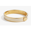 Halcyon Days Salamander Bangle - Cream and Gold