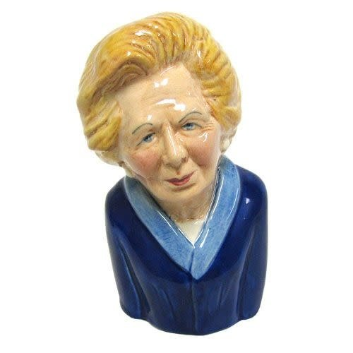 Bairstow Manor Pottery Mini Margaret Thatcher Jug