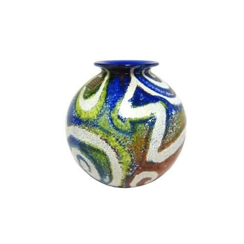 Isle of Wight Glass Isle of Wight Jazzy Small Pot