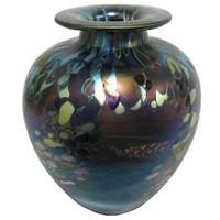 Jonathan Harris Monet Squat Vase - Ruby