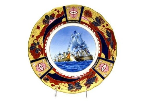 Royal Worcester Royal Worcester Nelson Collection - Battle of Cape St. Vincent