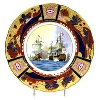 Royal Worcester Nelson Collection - Battle of Copenhagen