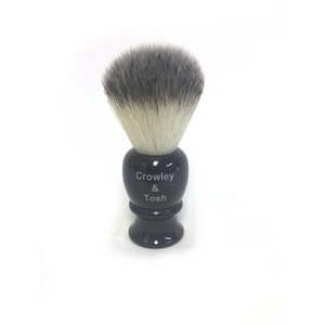 Crowley & Tosh Crowley & Tosh Synthetic Shave Brush Ebony