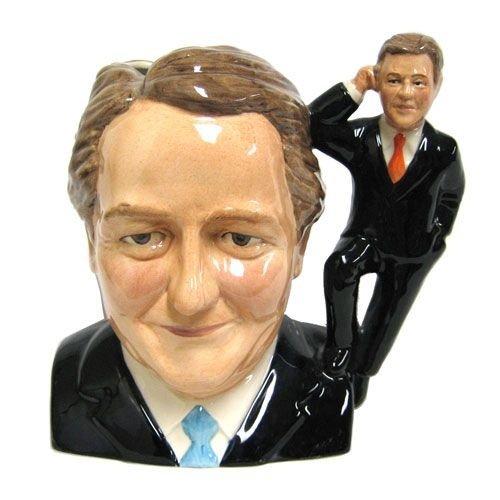 Bairstow Manor Pottery David Cameron & Nick Clegg Bust