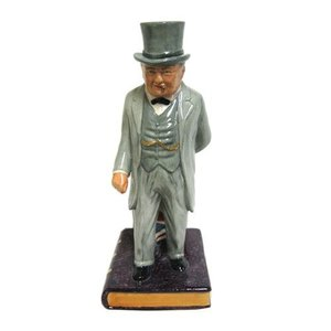 Bairstow Manor Pottery Life & Times of Winston Churchill Bust