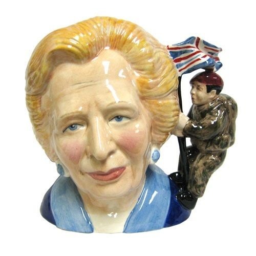 Bairstow Manor Pottery Margaret Thatcher Bust