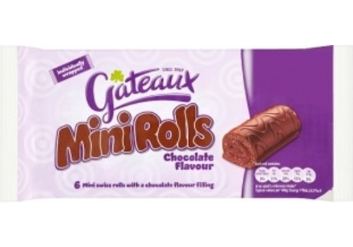 Mini Rolls Chocolate Flavour