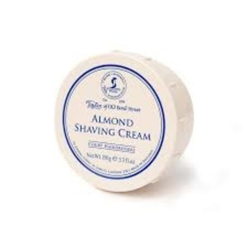 Taylor of Old Bond Street Almond Luxury Shaving Cream 150ml