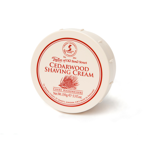 Taylor of Old Bond Street Cedarwood Shaving Cream