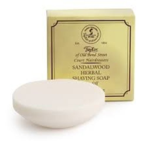 Taylor of Old Bond Street Sandalwood Herbal Shaving Soap Refill