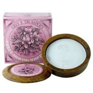 Geo F. Trumper Shaving Soap in a Bowl - Violet