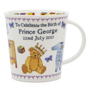 Dunoon Cairngorm Royal Baby Prince George 2013 Mug