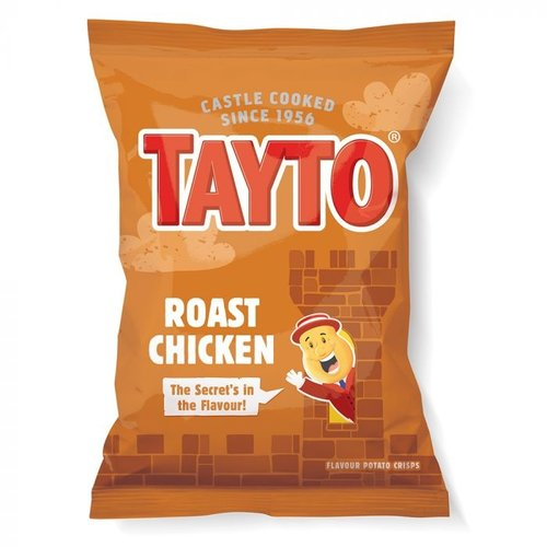 Tayto N.I. Taytos Roast Chicken Crisps