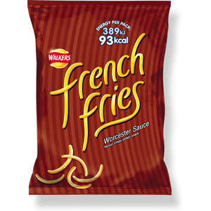 Walker's Walkers French Fries Worcester Sauce