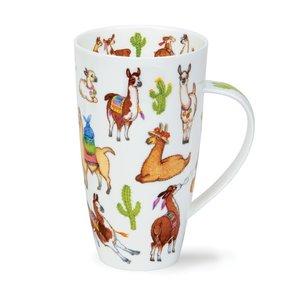 Dunoon Henley Llamarama Mug