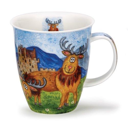 Dunoon Nevis Highland Animals Stag Mug