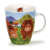 Nevis Highland Animals - Cow Mug