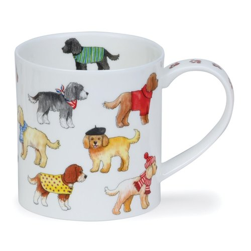 Dunoon Dunoon Orkney Dashing Dogs Cockapoo Mug