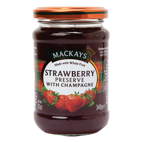 MacKays Mackays Strawberry Preserve with Champagne