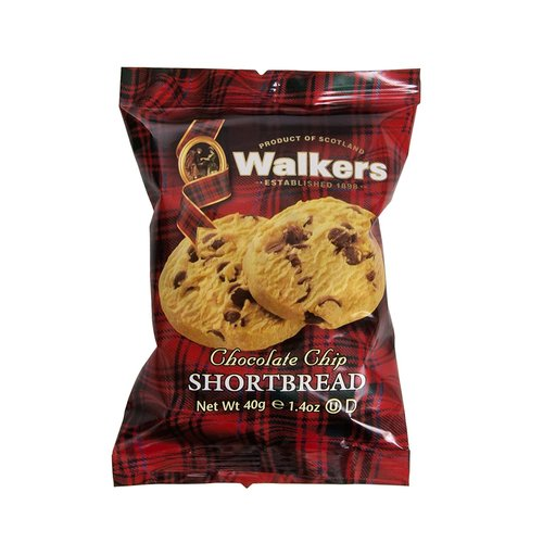 Walker's Walkers Pure Butter Chocolate Chip Shortbread 2pk