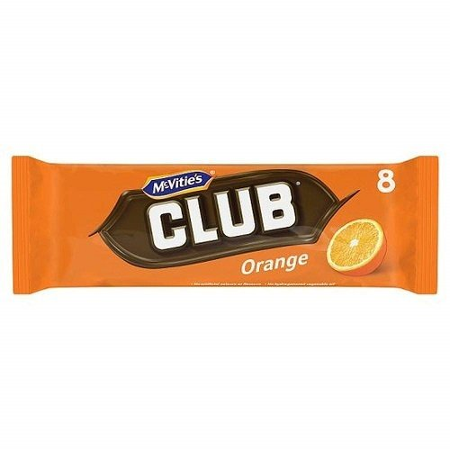 McVitie's Mcvities Club Orange 8 count