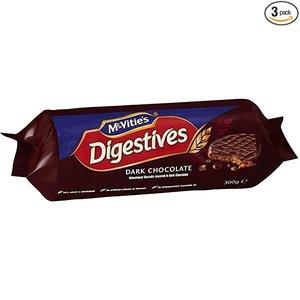 McVitie's McVities Digestives Dark Chocolate 300g