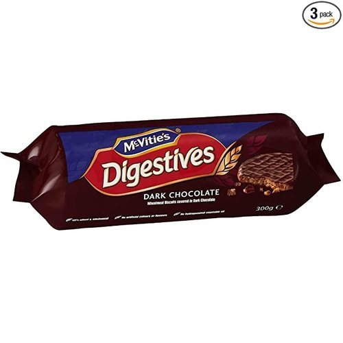 McVitie's McVities Digestives Dark Chocolate 300g