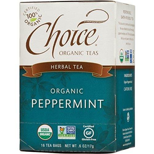 Choice Organic Peppermint Tea