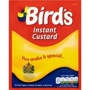 Birds Instant Custard Powder Sachet 75g