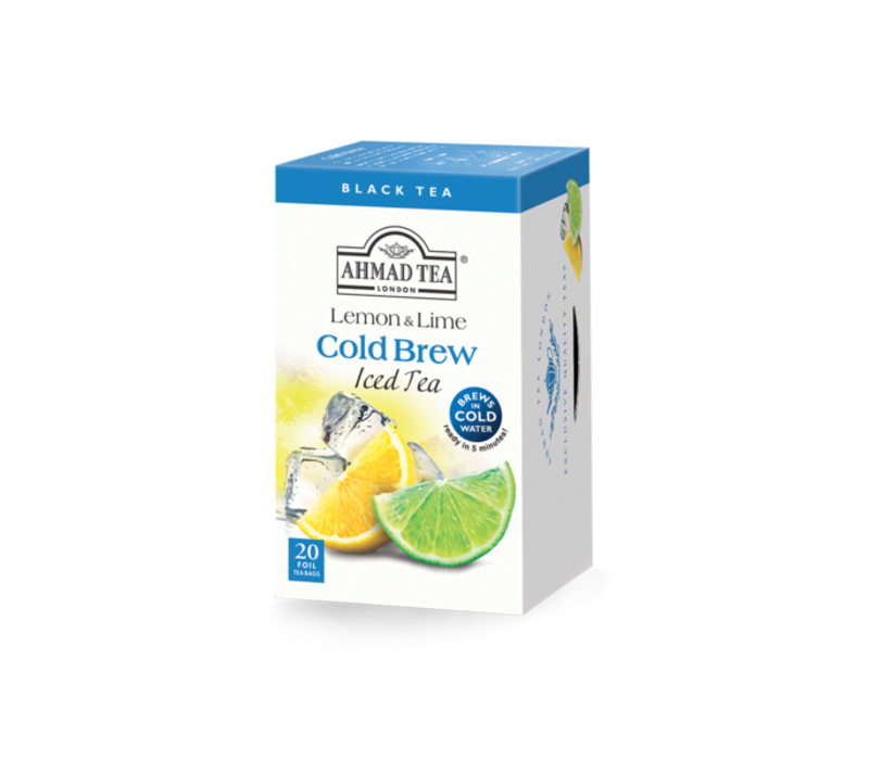 Ahmad Lemon and Lime Cold Brew