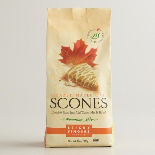 Sticky Fingers Maple Oat Scone Mix