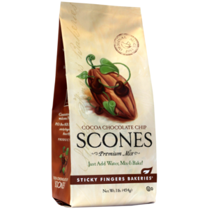 Sticky Fingers Sticky Fingers Cocoa Chocolate Chip Scone Mix