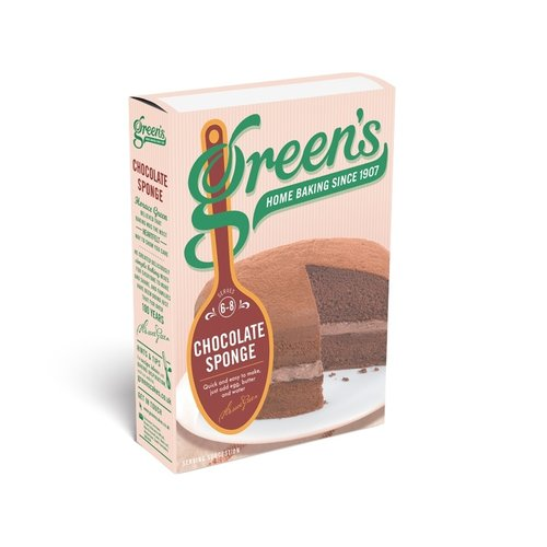 Greens Greens Chocolate Sponge