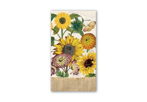 Michel Design Works Sunflower Hostess Napkins