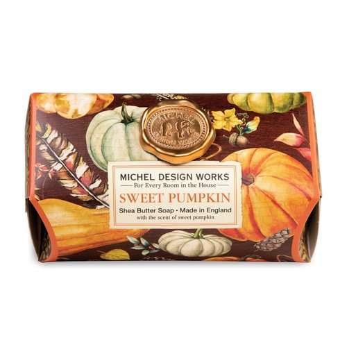 Michel Design Works Sweet Pumpkin Large Bath Soap Bar