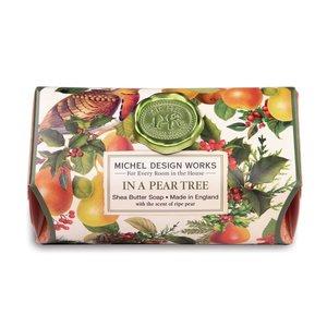 Michel Design Works In A Pear Tree Shea Butter Bar Soap