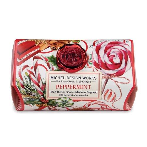 Michel Design Works Peppermint Shea Butter Bar Soap