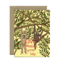 Love Hanging with You Card