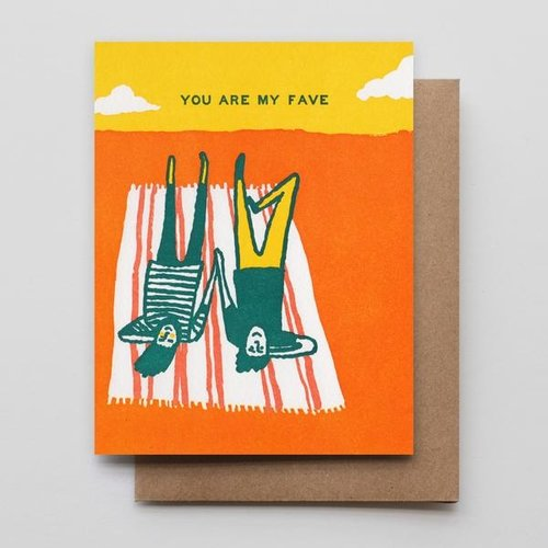 You Are My Fave Card