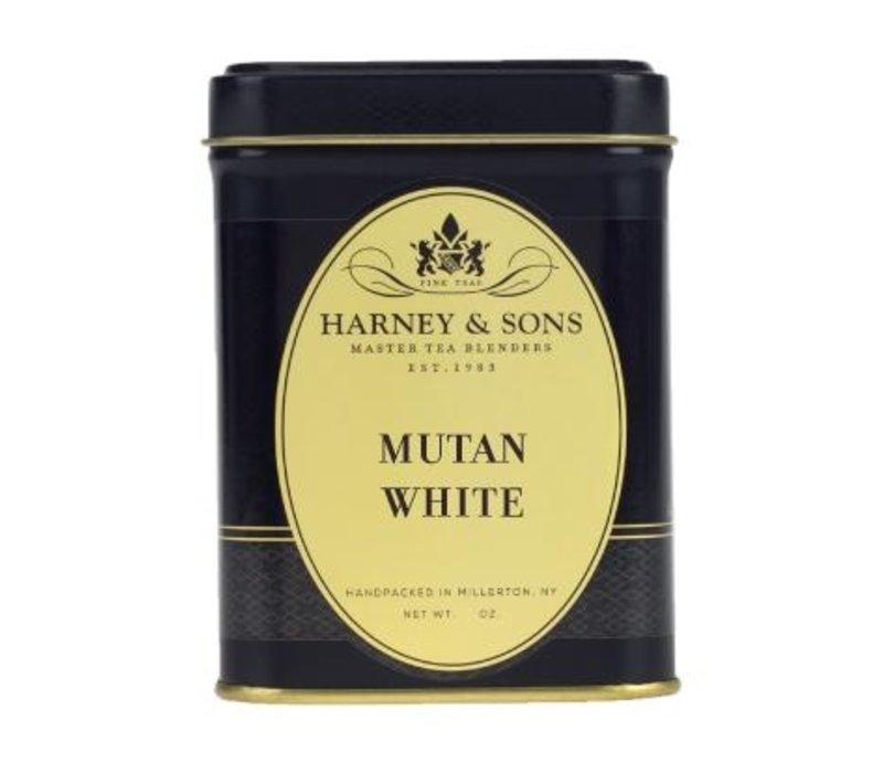 Harney and Sons Mutan White Loose Tea Tin