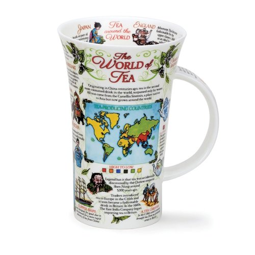 Dunoon Glencoe World of Tea Mug
