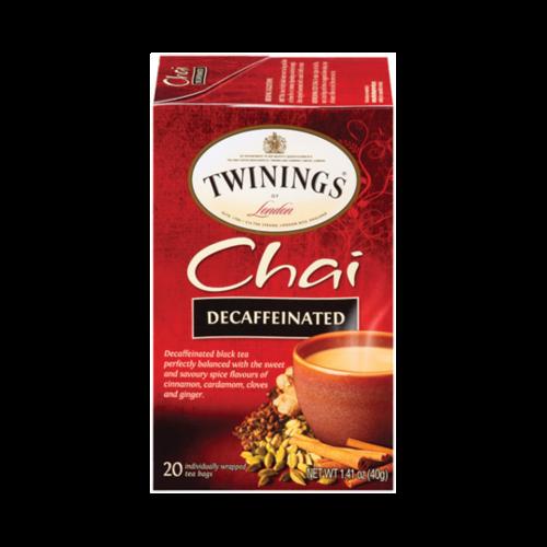 Twinings Twinings 20s Decaf Chai Tea