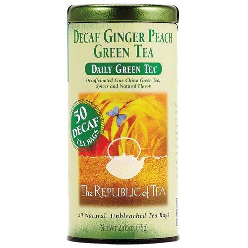 Republic of Tea Republic of Tea Decaf Ginger Peach Green Tea