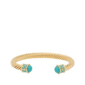 Halcyon Days Maya - Turquoise - Gold - Torque