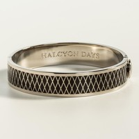 Parterre Black and Palladium Bangle