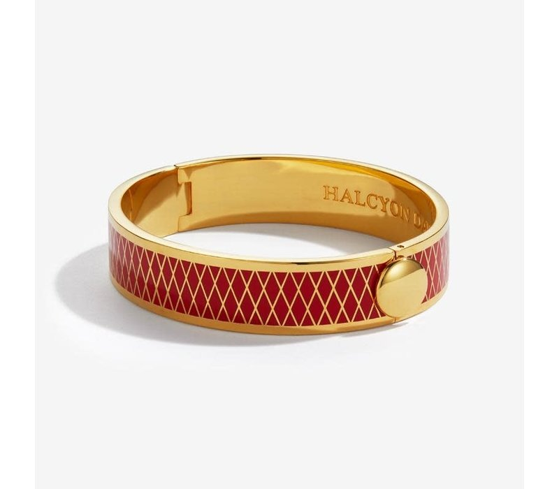 Parterre Red and Gold Bangle