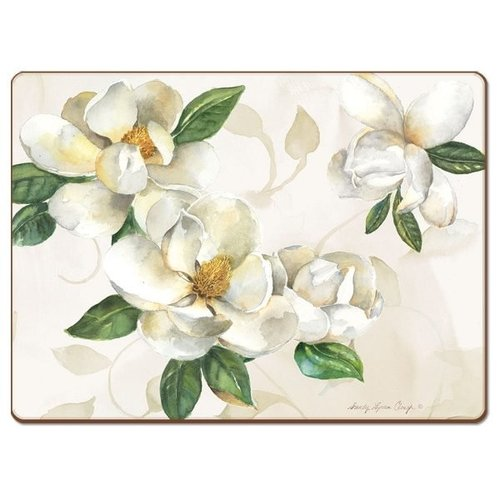 Magnolias 4 pack placemats